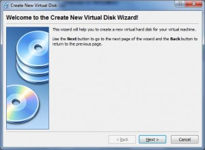 Virtual Hard Disk Wizard